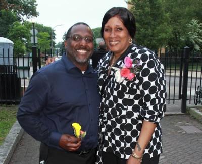 Board Members Rudy and Tanya